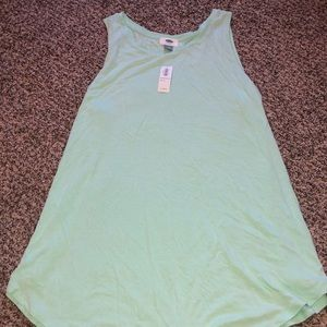 Old Navy Flowy Tank- Light Teal color - XL